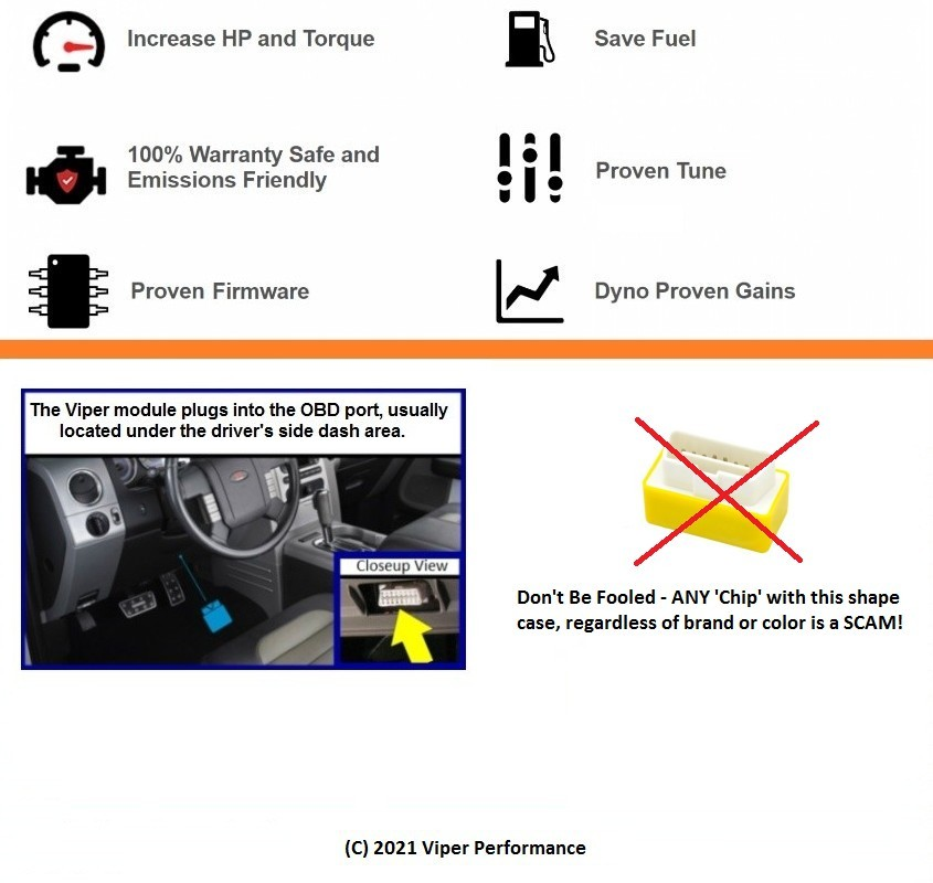 Viper X3 Performance Chip Sprint Throttle Booster Programmer